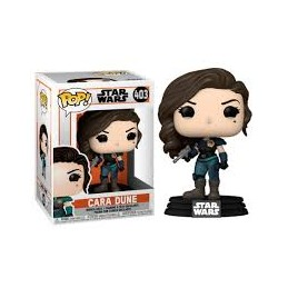 Funko pop star wars the mandalorian cara dune - Imagen 1